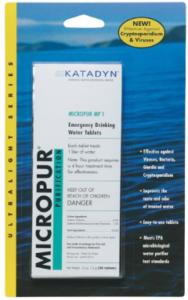 Katadyn Micropur MP1 PACK