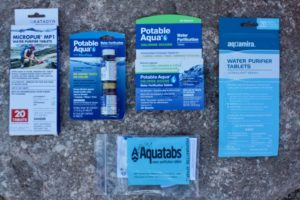 Best water purification tablets for hiking