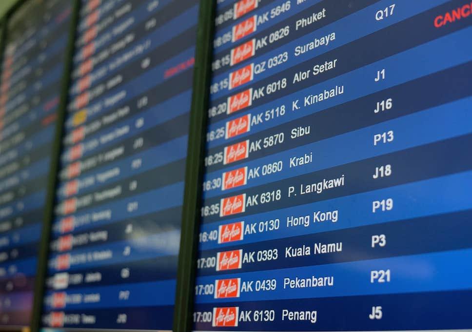 international flight information