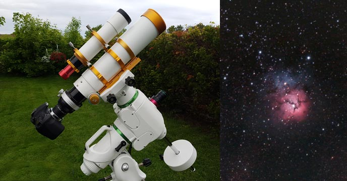 mount for astrophotography